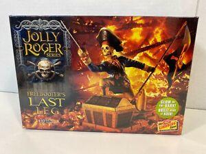 Jolly Roger Series Freebooter's Last Leg 1:12 Model Kit Lindberg NEW SEALED