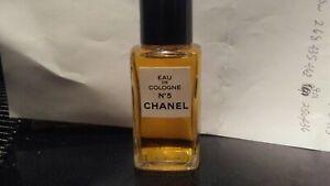 NOS Vintage Bottle Chanel No 5 Eau De Cologne 2 oz Full New