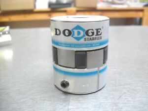 Dodge starflex coupling L-075  - 5/8 x 5/8  w/ Rubber Spider New