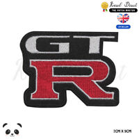 Motor Sport Racing Logo GTR Embroidered Iron On Sew On PatchBadge
