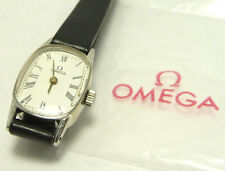 Super great rare 20 micro white gold filled case OMEGA LADY'S WINDING  WATCH