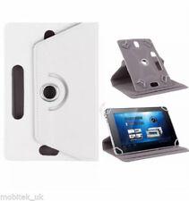 Fundas y carcasas Universal color principal blanco de piel sintética para teléfonos móviles y PDAs