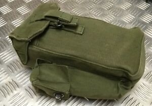 Genuine British Military Issue 58 Patt OD Green Falklands Type Ammo Pouch Right