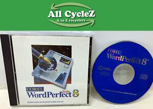 Corel WordPerfect Suite 8 for Wondows