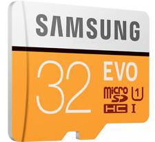 Samsung Micro SD / TF Memory Card - Black + Orange (32GB / Class 10)
