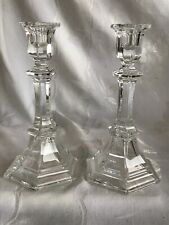 Vintage Avon 8� Cyrstal Lead Glass Candle Holders