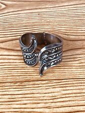Vintage Mexican Silver Bracelet Clamper Sterling Mexico