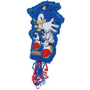 Birthdayexpress Sonic The Hedgehog Pull-String Pinata