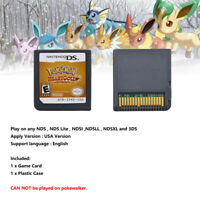 US Version Pokemon HeartGold Game Card For 3DS NDSI NDS NDSL Lite2