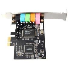 PCI Express PCI-E5.1 Channel 3D Audio 6 Channel Digital Sound Card Windows 7