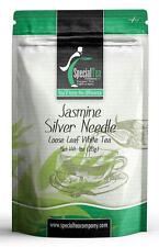Jasmine Silver Needle Organic Gourmet White Loose Tea 1oz Inc. 10 Free Tea Bags