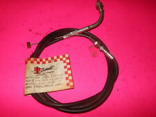 "NEW HONDA CB750A THROTTLE PULL CABLE 8"" OVER STOCK BARRETT N750-5XL"