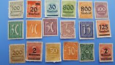 stamps germany, Deutsches Reich Deutschland German,-  set - VERY RARE