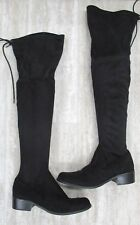 Charles by CHARLES David Gunter Over the Knee Boot in Black - 7 NEW