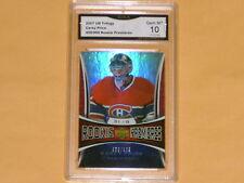2007-08 Trilogy Rookie Hockey Card # 154 Carey Price /999 GRADED 10 GEM-MT