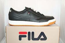 Mens Fila ORIGINAL TENNIS OT Casual Athletic Shoes Sneakers White Black Gum Red