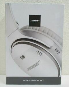 Bose QuietComfort 35 II Bluetooth Headphones, Noise-Cancelling, Mic - Silver NEW