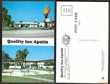 Old Florida Hotel Postcard - Titusville - Quality Inn Apollo
