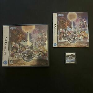 Phantasy Star 0 - Nintendo DS Japan Import with Manual