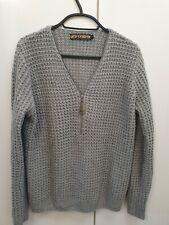 Tk maxx, Olde London, ladies jumper/sweater size M. Grey, knitted,