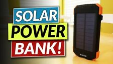 2020 Power Bank Solar Waterproof Dual USB Portable Solar Battery For all Phones