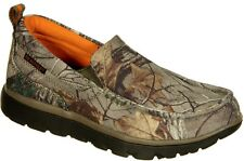 Realtree Camo Montgomery Men's Slip On Shoes Mocs, Officially Licensed