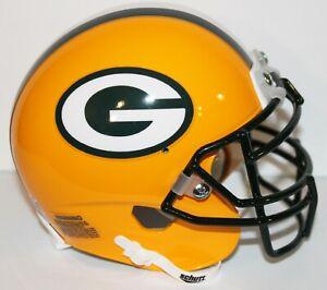 Aaron Rodgers Green Bay Packers Custom Schutt Mini Helmet
