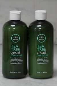 2 PACK. 16.9 oz. Paul Mitchell Tea Tree Special Conditioner. 500ml. NEW.