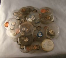 POCKET WATCH 100 CRYSTALS EXCELLENT CONDITION SIZE 16,17,20 OF AND HC