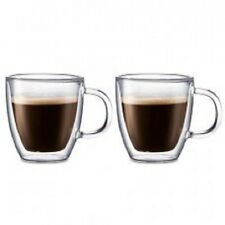Bodum Bistro Double Wall Mugs, Set of 2 0.3Lt RRP $39.99