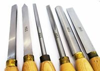 Wood Turning Lathe Chisel Set Quality 6pc HSS Carpentry WW058