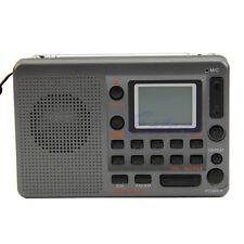 Portable Digital Tuning LCD Receiver TF MP3 Player FM/AM SW Full Band Radio