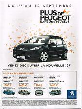 Publicité Advertising 2005 Peugeot 307