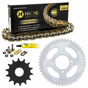 Sprocket Chain Set for Hyosung Cruise 125 14/48 Tooth 428 X-Ring Front Rear Kit