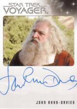Star Trek - Voyager -  Quotable - John Rhys-Davies Auto Trading Card