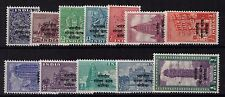 India - Forces in Korea 1953 set of 12  fine unhinged mint