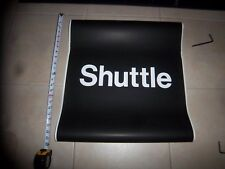 22x24 NY NYC SUBWAY SHUTTLE MANHATTAN BROOKLYN NY URBAN SIGN R68 ROUTE ROLL SIGN