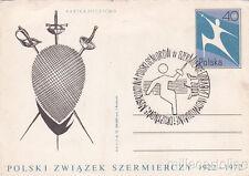 * FENCING - Polski Zwiazek Szermierczy 1922-1972