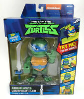 RISE Of TheTeenage Mutant Ninja Turtles Babble Head Loudmouth Leo 5-Inch Figure