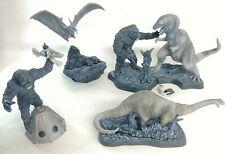 SF Movie Selection Mini Figure collection King Kong Set of 5 Konami Japan 【Used】