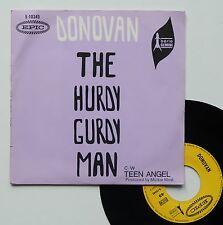 "Vinyle 45T Donovan  ""The hurdy gurdy man"""