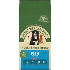 James Wellbeloved Adult Fish and Rice (LARGE BREED) Hypoallergenic Dog Food 15kg