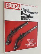 Rivista EPOCA 18-10-1970 N. 1047 Alluvione di Genova