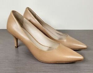 Cole Haan Vesta Pump, Nude Leather, Womens Size 6.5 B
