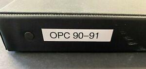 1990-91 OPC OPC O-PEE-CHEE HOCKEY SET COMPLETE NRMT-MINT RANGE 9921