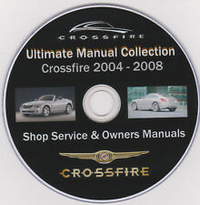 "Chrysler Crossfire 2004-08 ""Ultimate Manual Collection"" Repair PLUS More Info !"