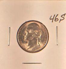 1946 S Jefferson Nickel Choice BU from OBW roll Mintage: 13.6 Million