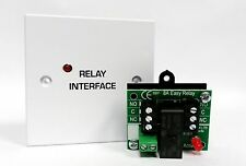 Fire Alarm - Auxiliary Relay / Interface -  24V DPCO 230V AC 8A contacts - WHITE