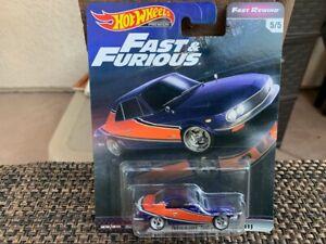 Hot Wheels Premium Fast & Furious Nissan Silvia CSP311 on card