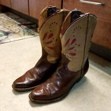 "Original Vintage 1940's Pee Wee ""Shorty"" Cowboy Boots"